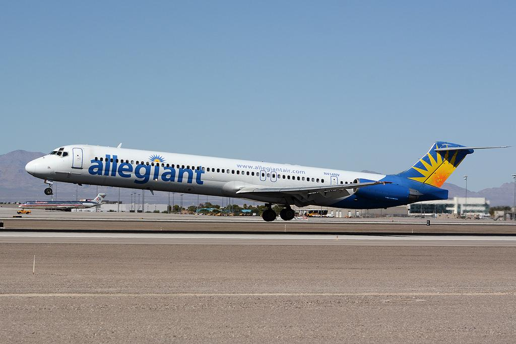 Rotate MD80 Allegiant New(er) Livery - Repaint-Requests - X-Plane