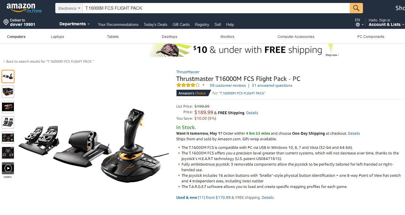Currently the Best Joystick for Xplane 11 - Hardware - X-Plane Org Forum