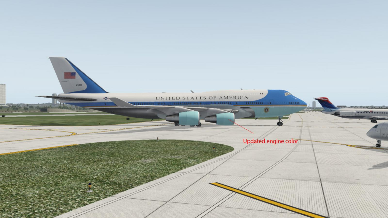 Air Force One Livery for XP11 - Aircraft Skins - Liveries