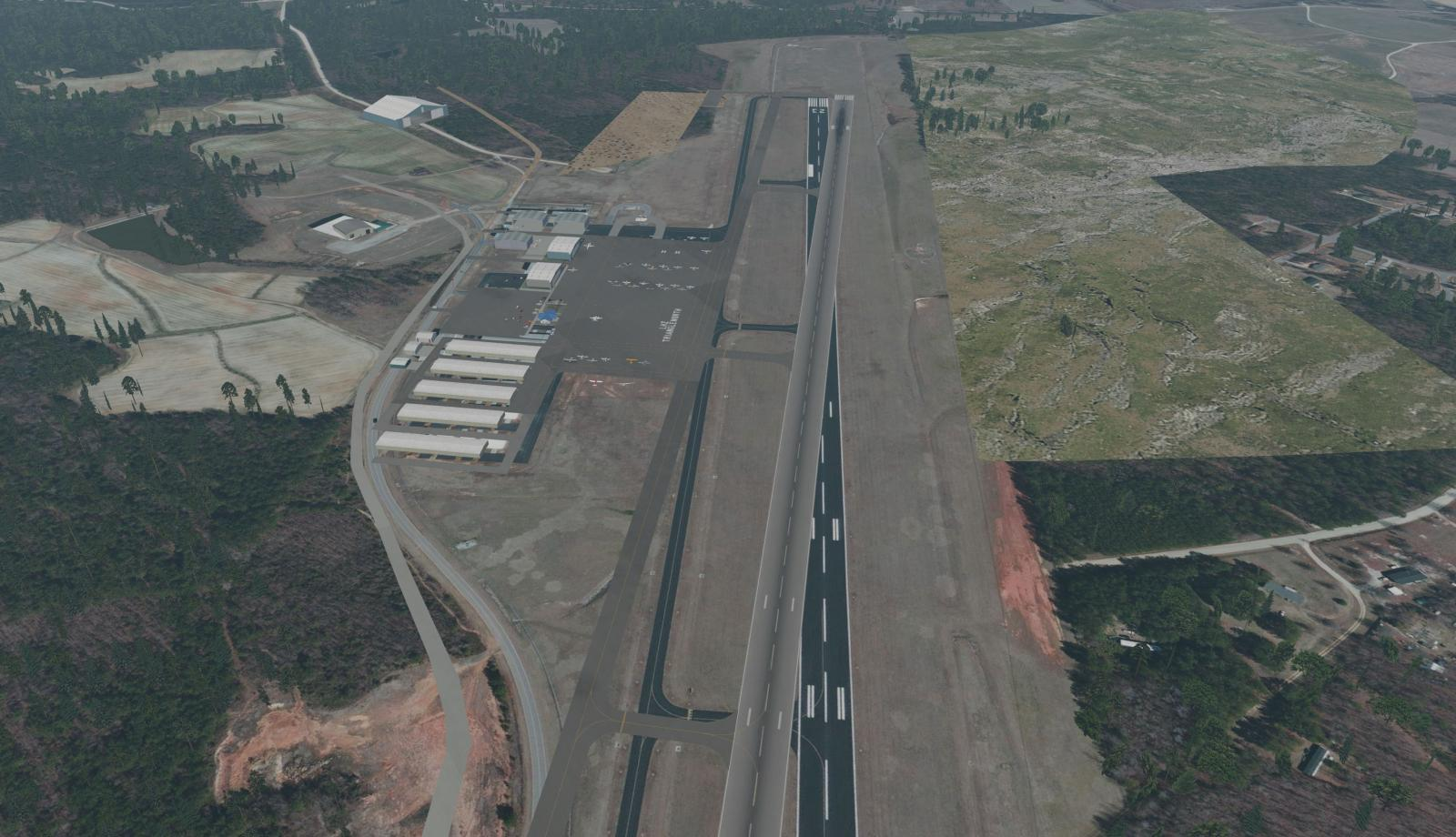 How Can I Fix This? Misaligned Airport - Scenery Development