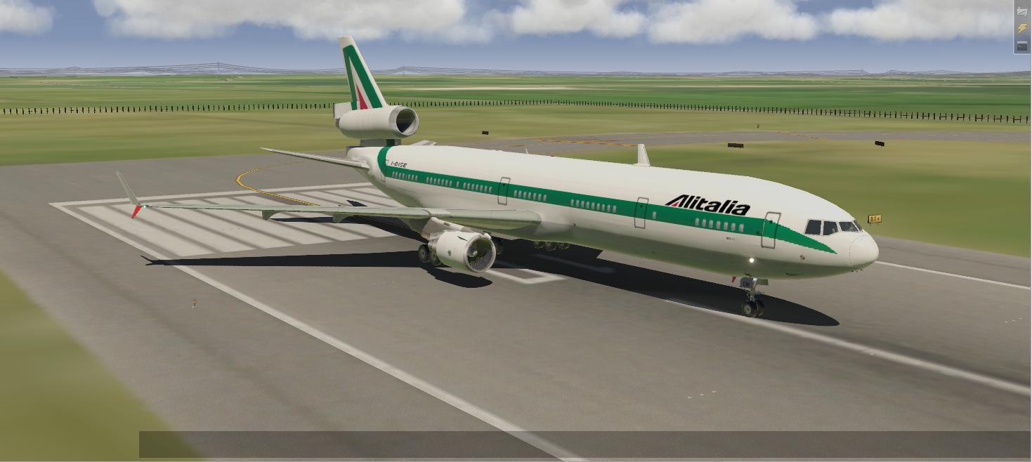 Overland MD 11 Alitalia Livery - Aircraft Skins - Liveries - X-Plane