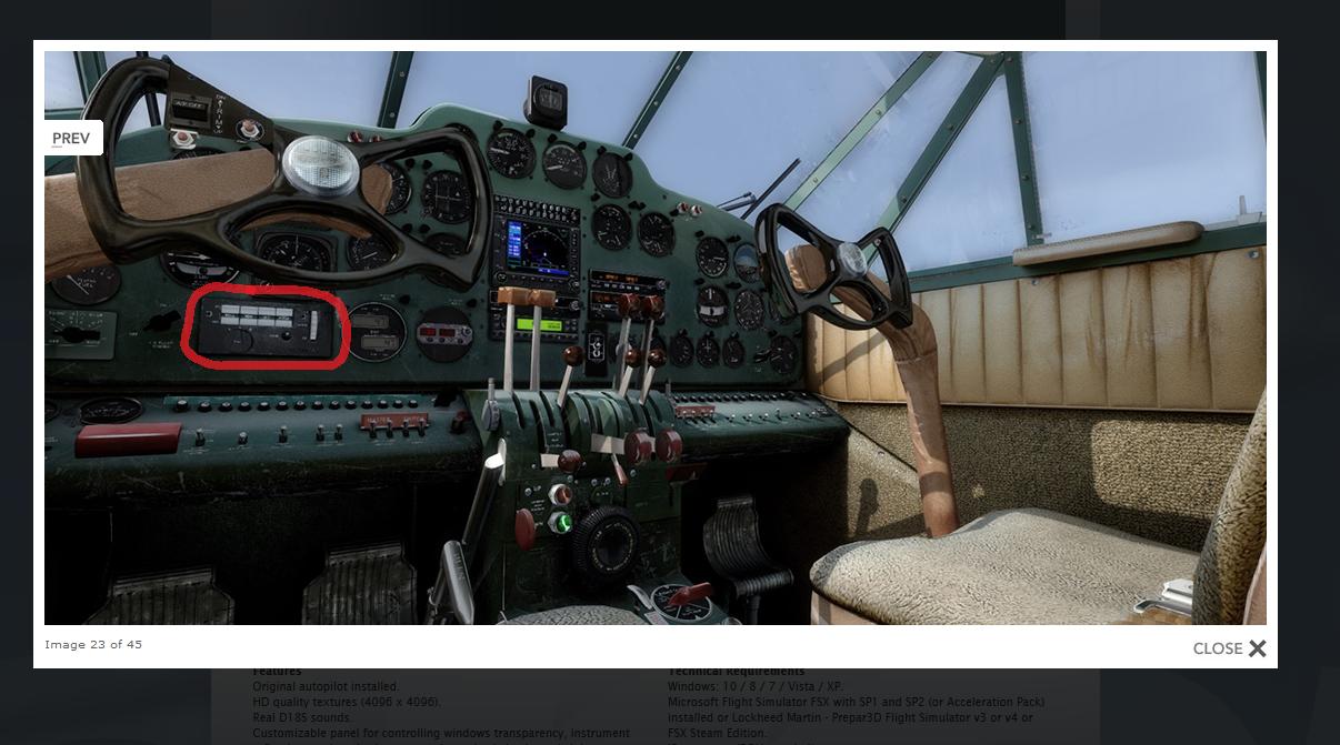D-18 for X-Plane - Carenado - Alabeo Support - X-Plane Org Forum