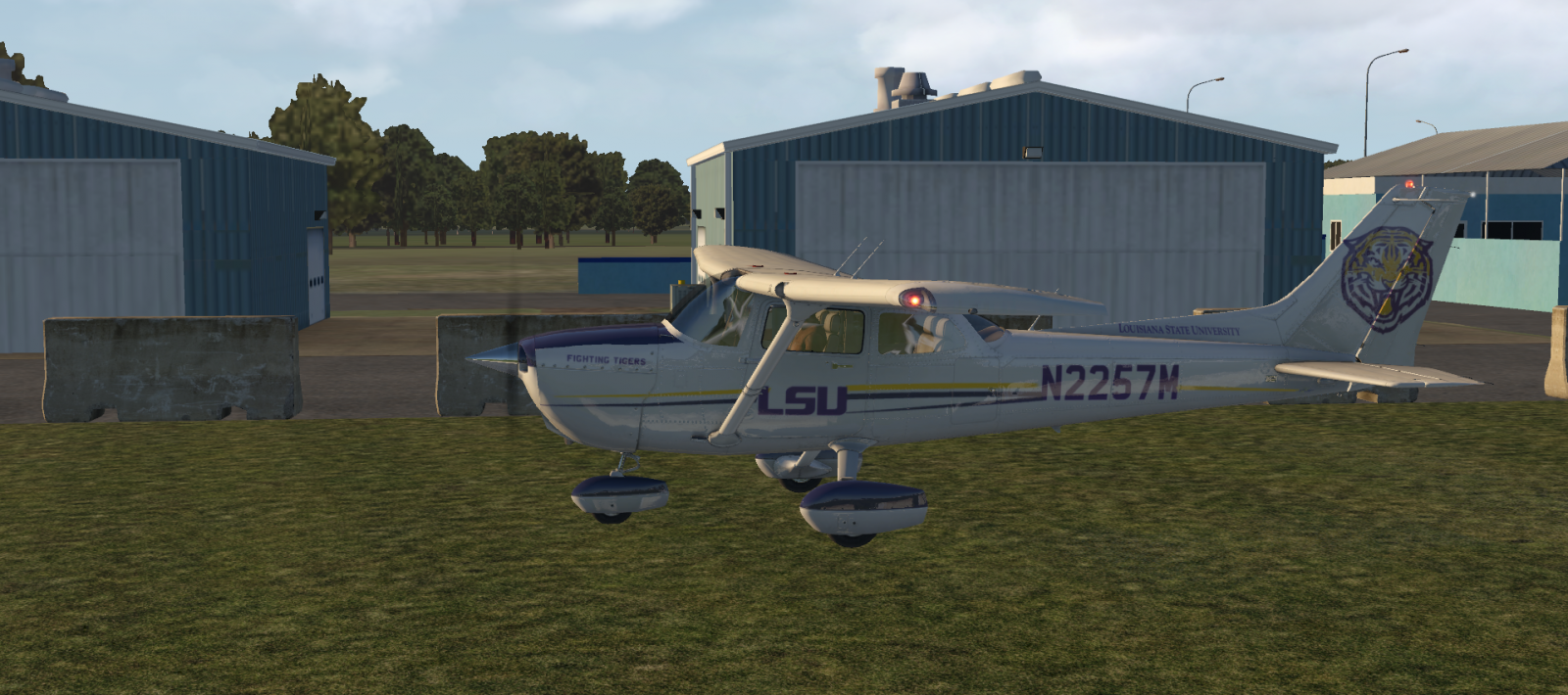 Louisiana State University - Aircraft Skins - Liveries - X-Plane Org