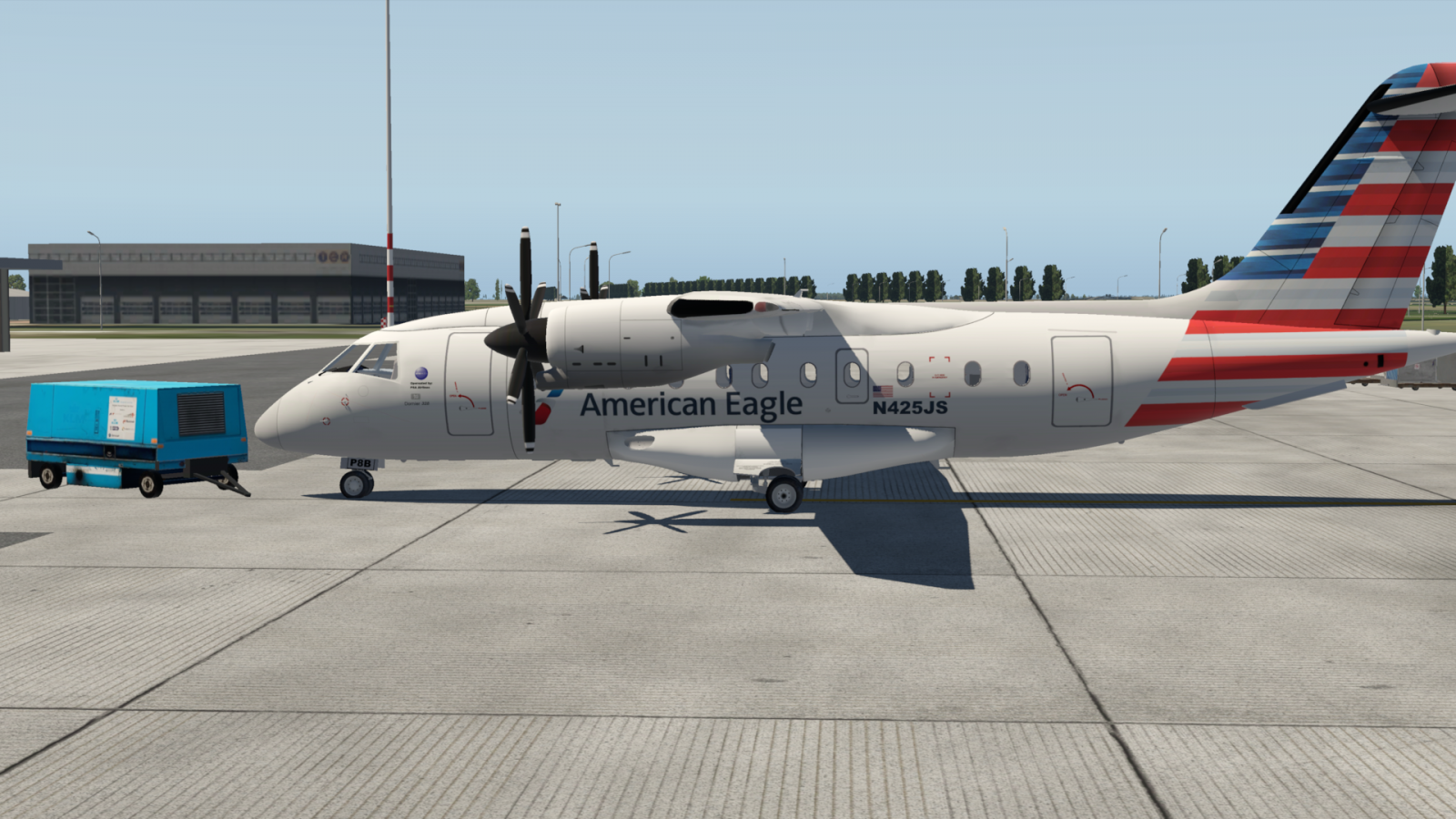 US airways livery for MG Do 328 freeware - Aircraft Skins - Liveries