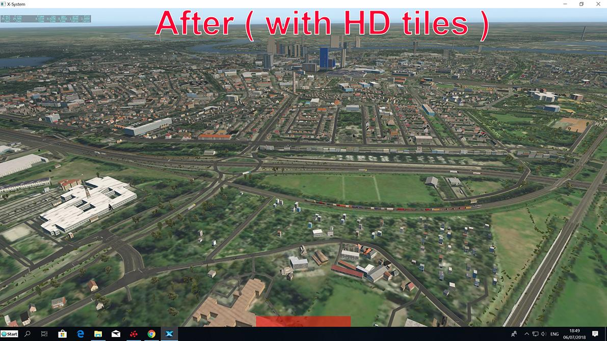 AMAZING W2XP HD in TILE format - Scenery Packages (v11,v 10, v9) - X