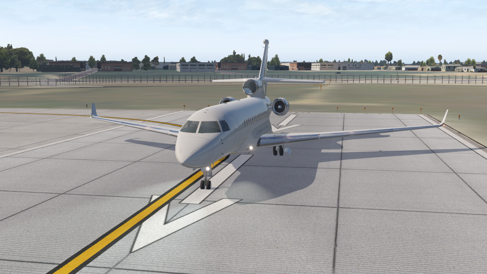 Falcon 7X for XP11 - General Aviation - X-Plane Org Forum