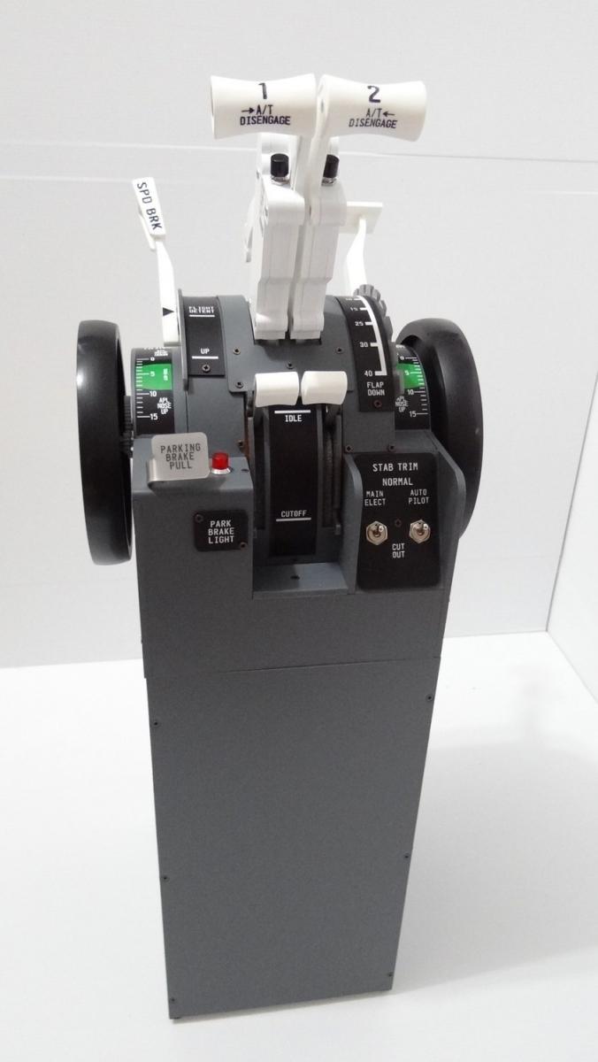 FlightsimPM B737 Throttle quandrant with Zibo - ZIBO B738