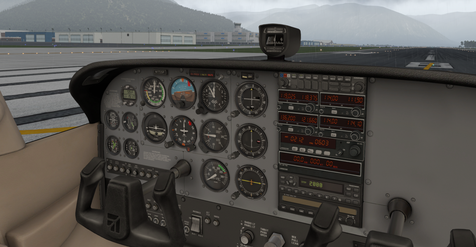 XP11 C172 /A (Slant Alpha) (No GPS) - General Aviation - X-Plane Org