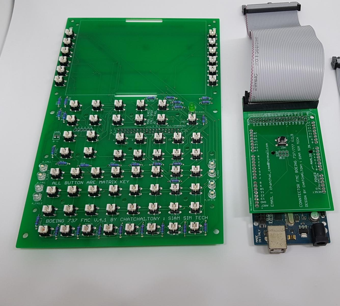 Possible to make FMC by arduino board - ZIBO B738-800