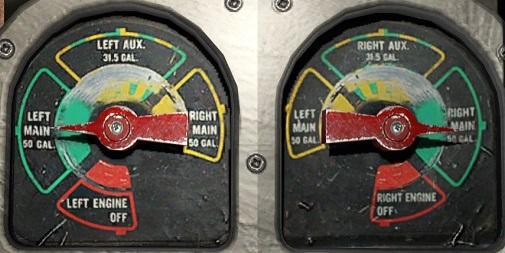 The new Carenado C340 has a unique fuel system - Carenado