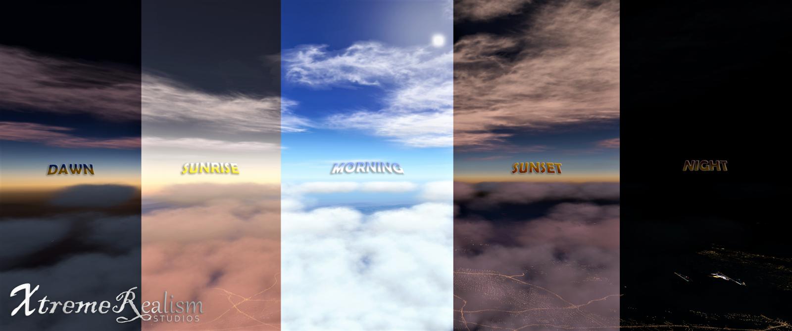 xVision XtremeRealistic Enhancement Preset - Scenery Enhancement