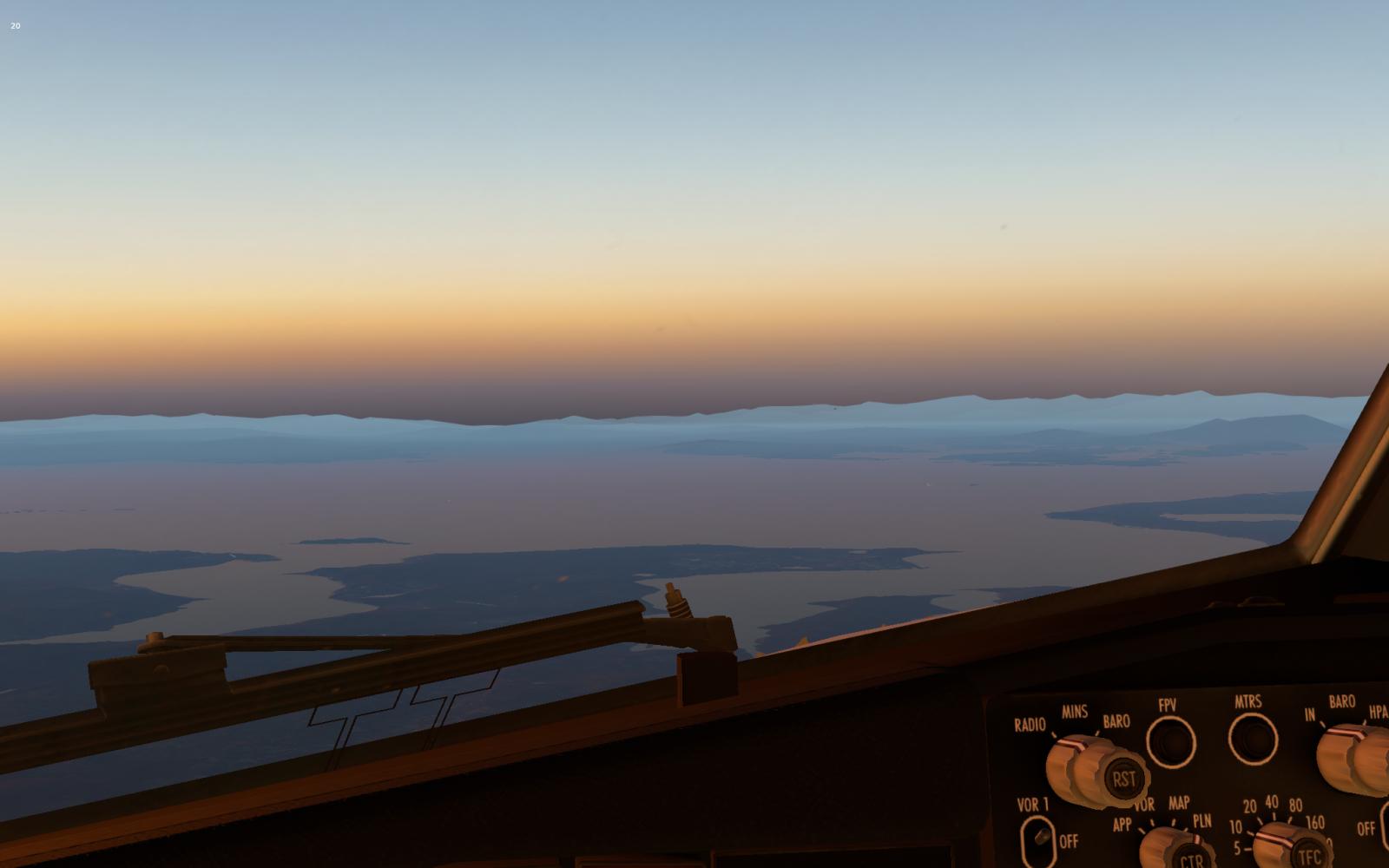 X-Plane 11 horizon bug? (fog/haze) - XP11: Is it a bug ? - X-Plane