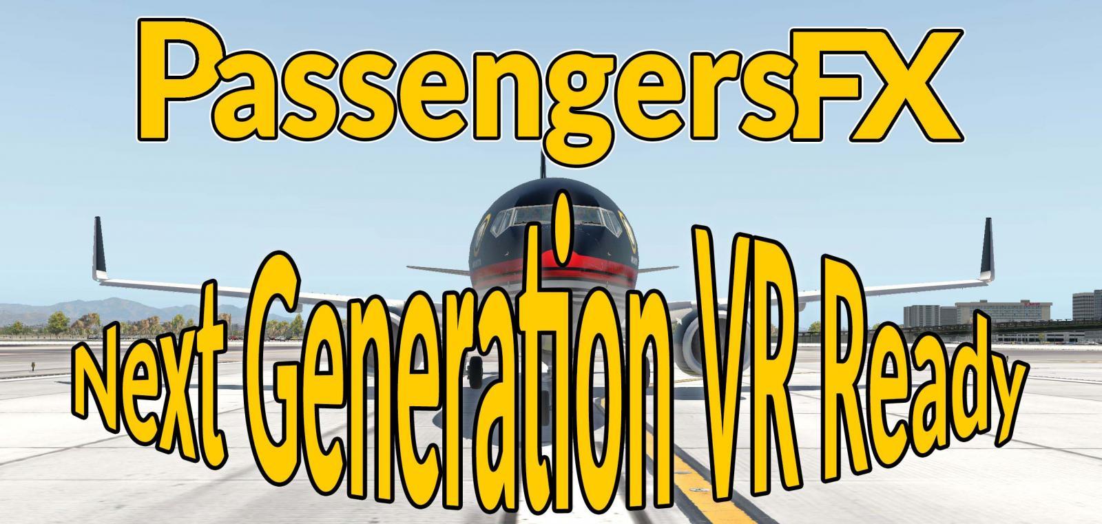 Passengersfx Ng Next Generation Vr Ready Basic Edition