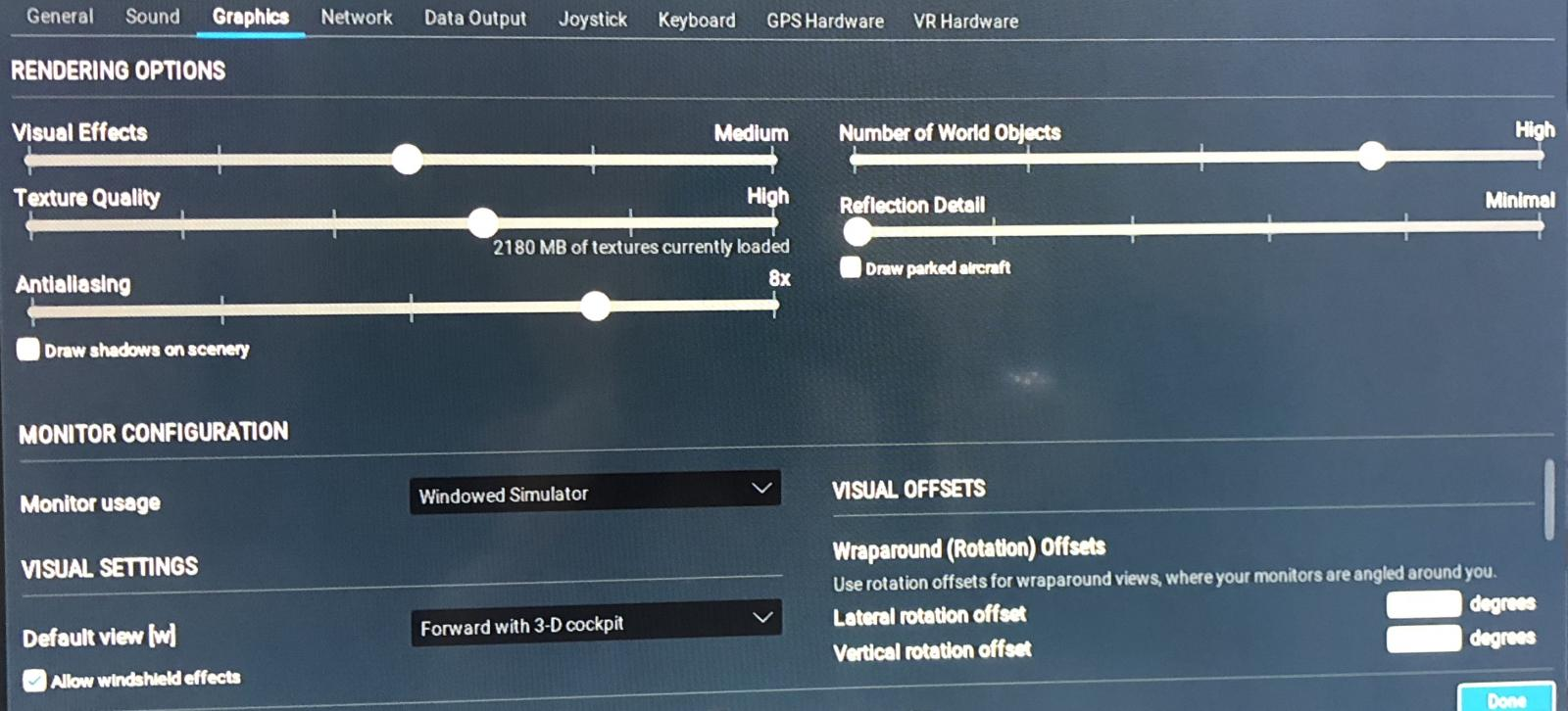 HDR or AA x16 and objects at máximum? - VR in X-Plane 11 - X-Plane