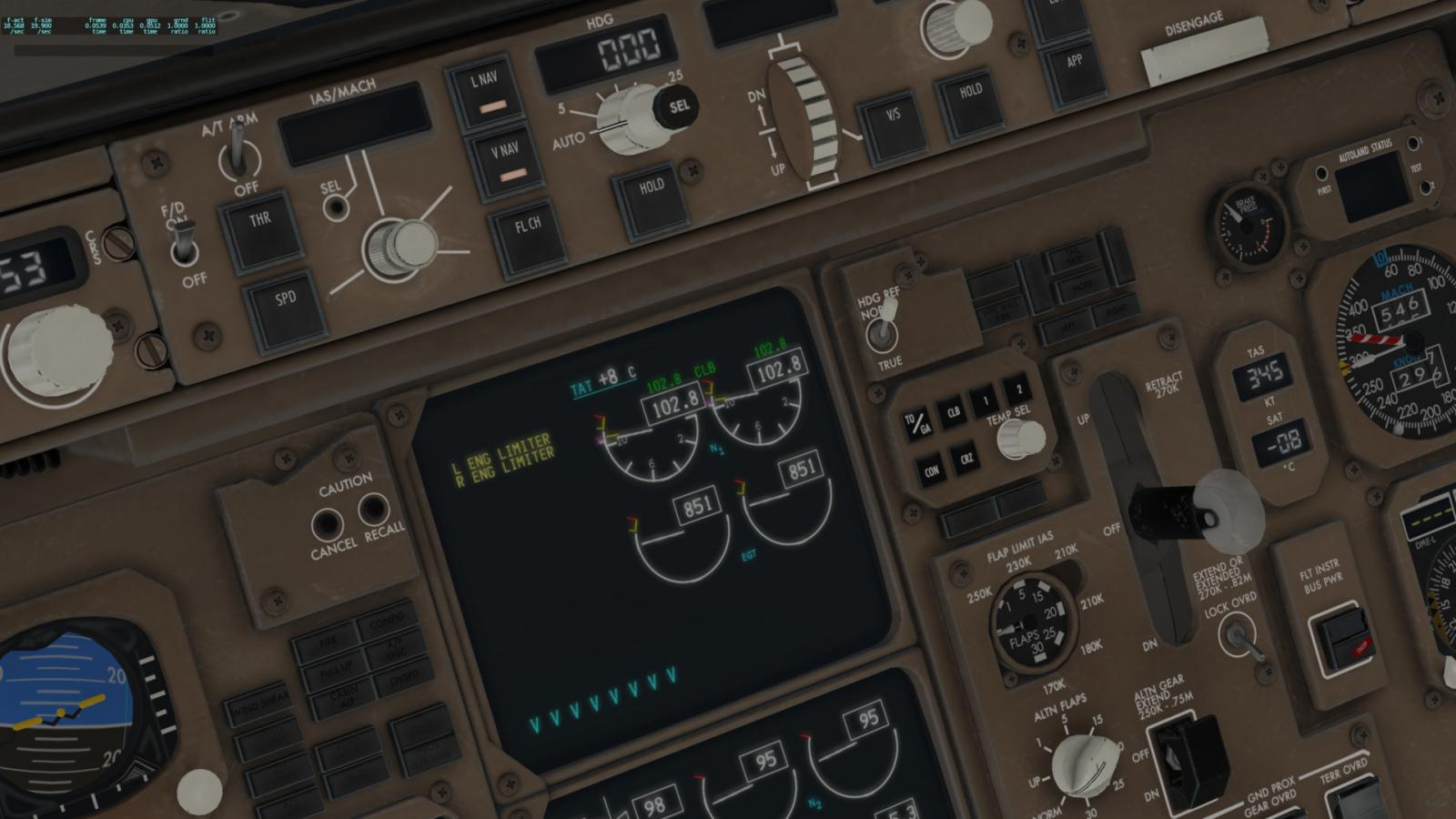 ANSWERED]what is ENG LIMITER? - Boeing 767 Professional - X-Plane