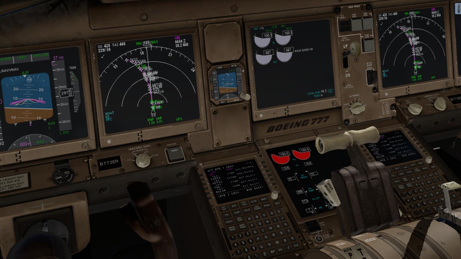 Boeing 777 v1 9 14 - Boeing 777 Worldliner Professional - X