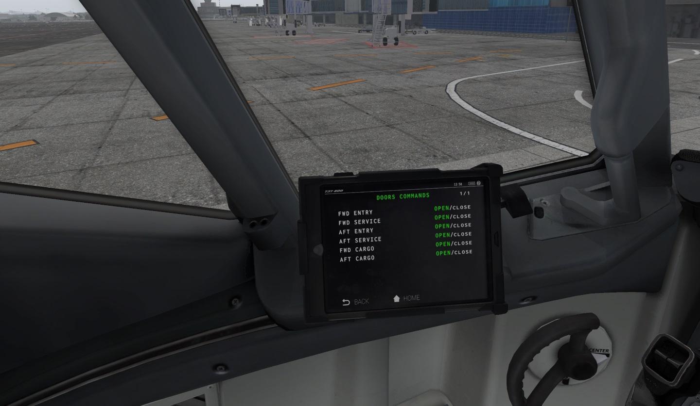 Zibo mod cargo doors