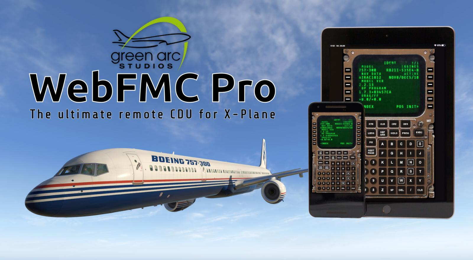 WebFMC Pro 1 0 7 - Now supports Flight Factor 757 and 767