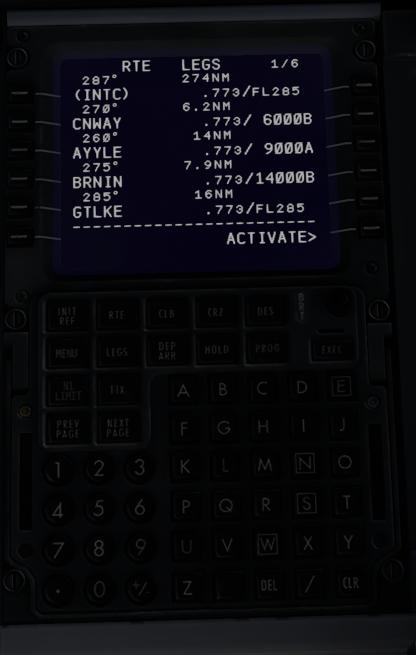 HELP with FMC -- INTC instead of RW showing? - ZIBO B738-800