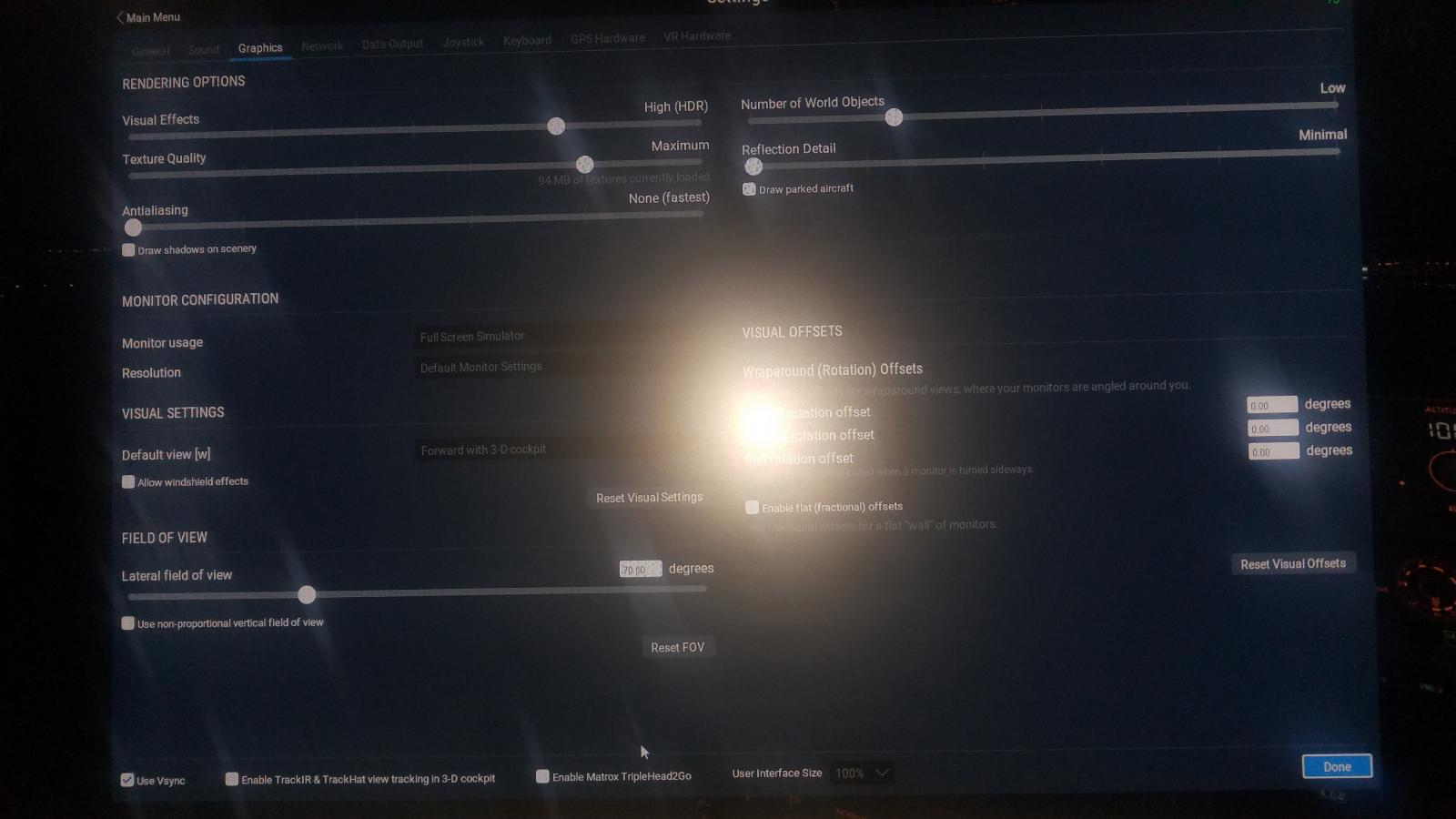 FPS issue after update  - XP11: Rendering Options - FPS - Hardware