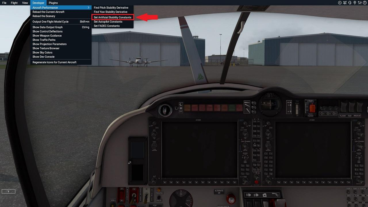 Is the autopilot supposed to porpoise like this? - Milviz