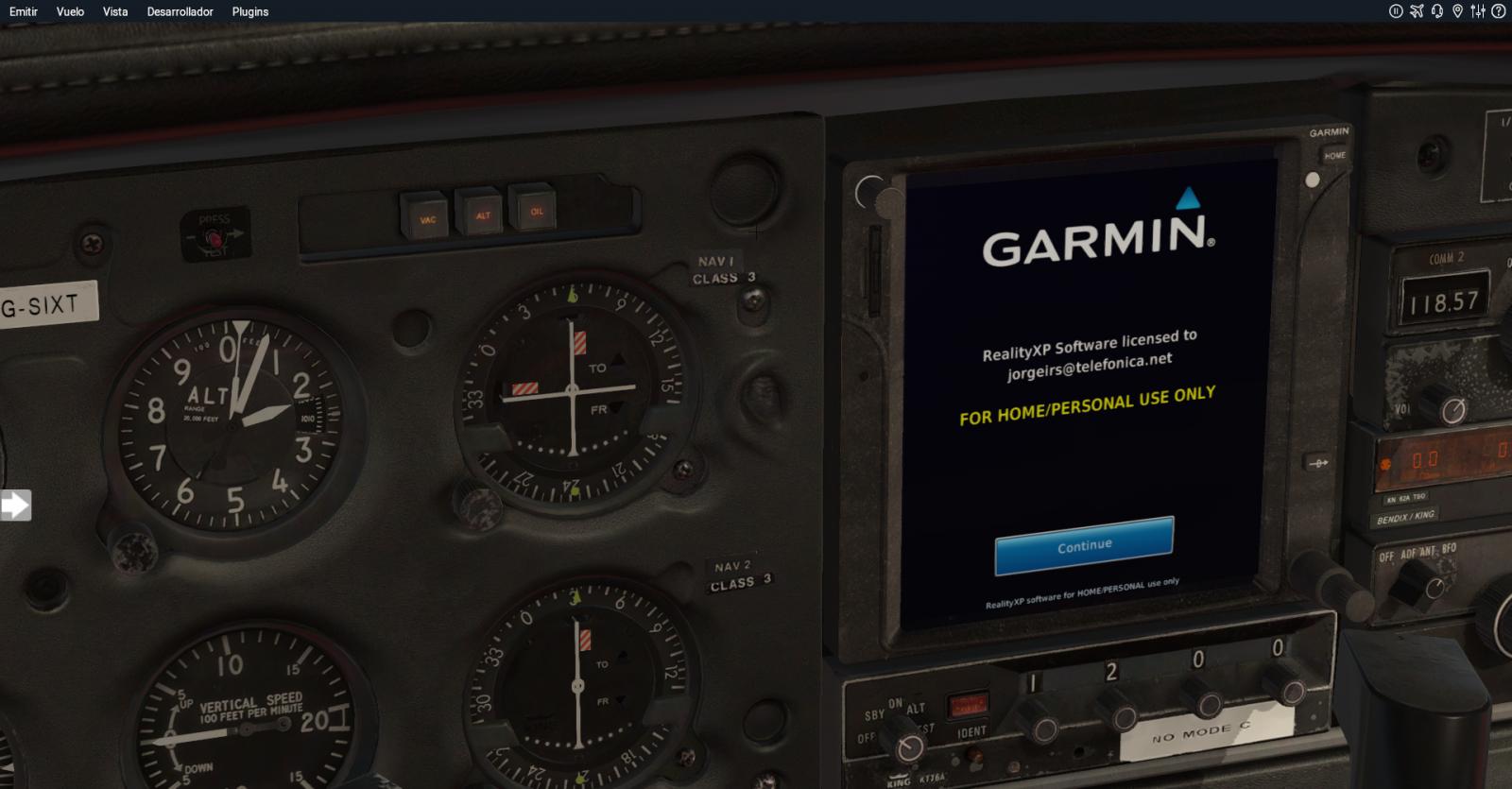GTN 750 not work - Just Flight PA28 Warrior II - X-Plane Org