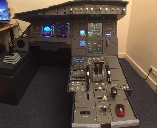 ToLiss hardware cockpit support - Airbus A319 - X-Plane Org