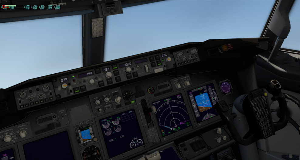 Engage CWS instead of CMD - ZIBO B738-800 modified - X-Plane
