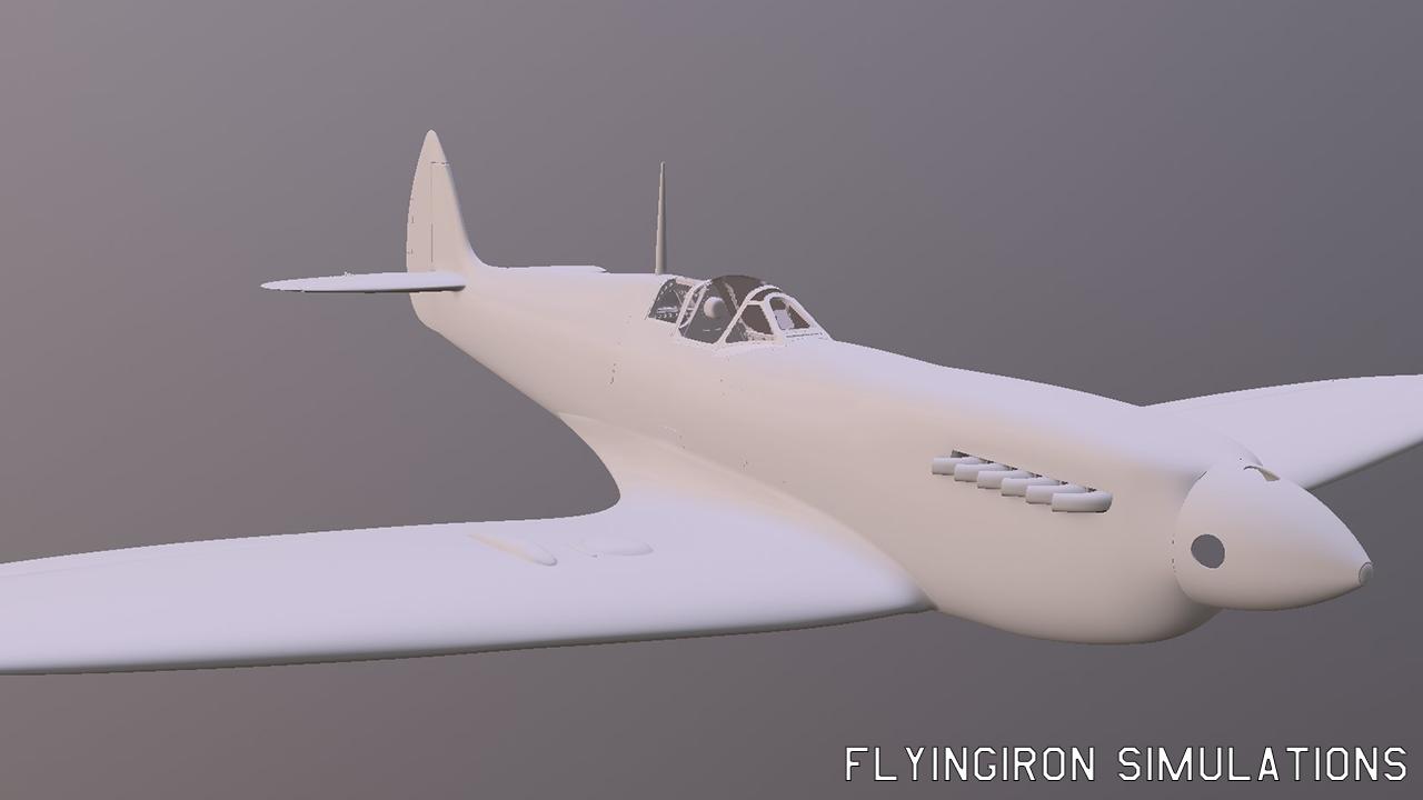 Supermarine Spitfire L F  Mk IX by FlyingIron - Spitfire MK