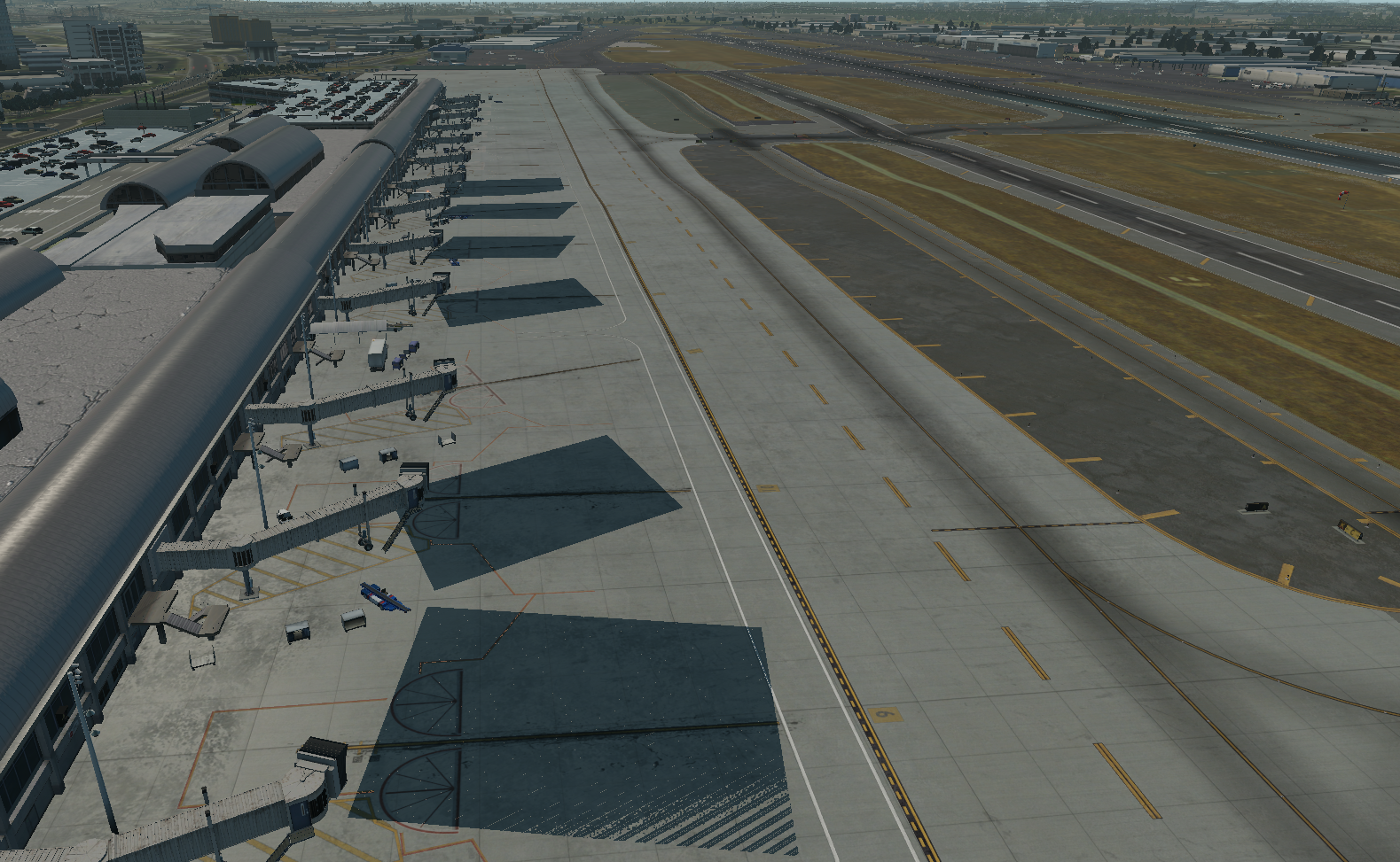 KSNA issues - XP11 Scenery - X-Plane Org Forum