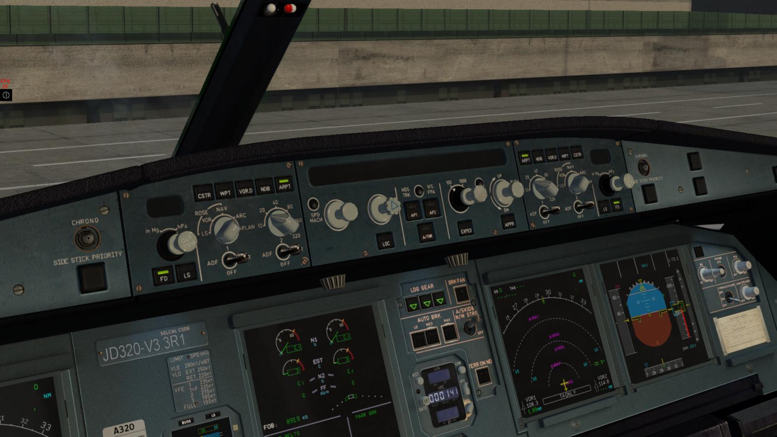 JAR A320 Autopilot not displaying anything! - General X-Plane Forum