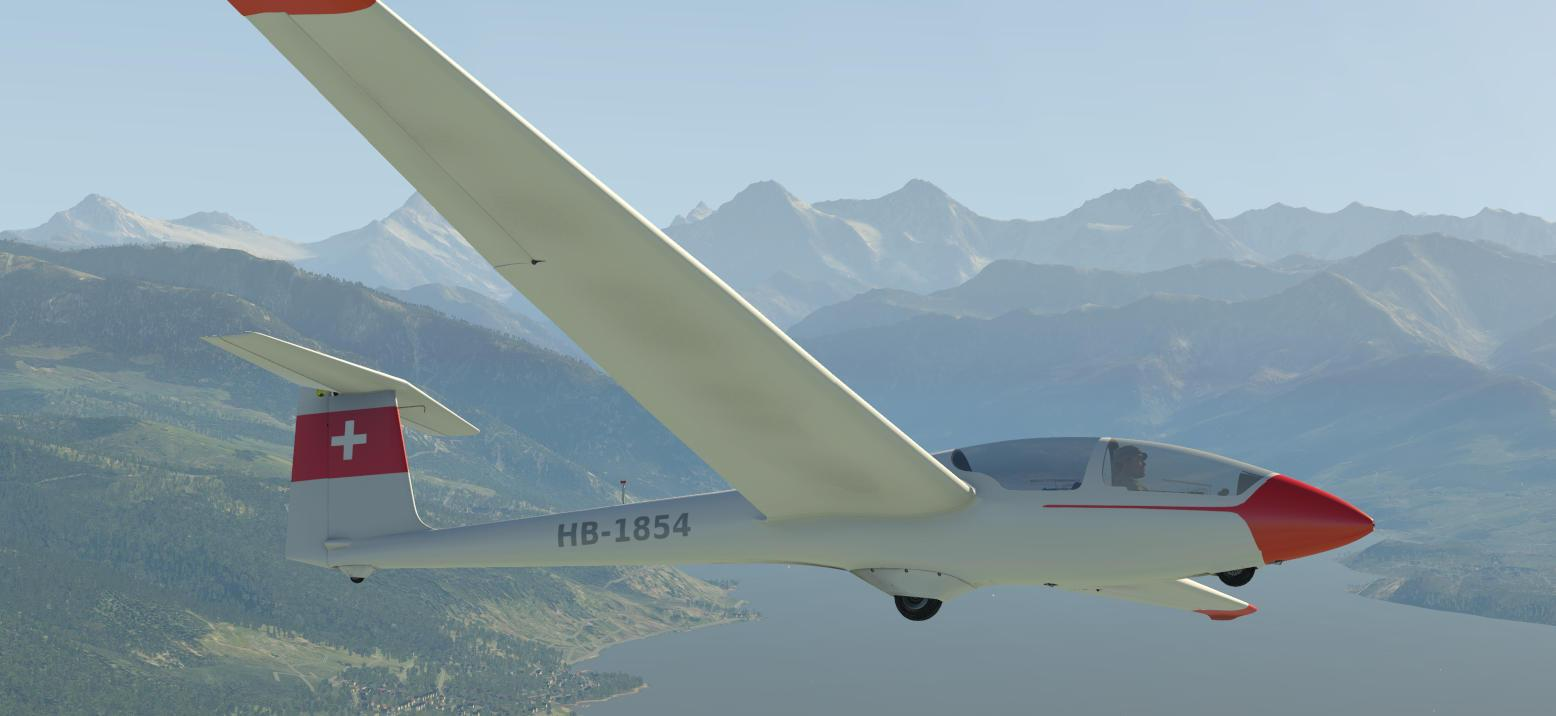 ASK21 HB-1854 SG Thun - Aircraft Skins - Liveries - X-Plane