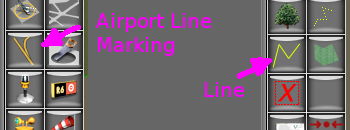 How to choose Lines vs Airport Line Markings - WED Guides