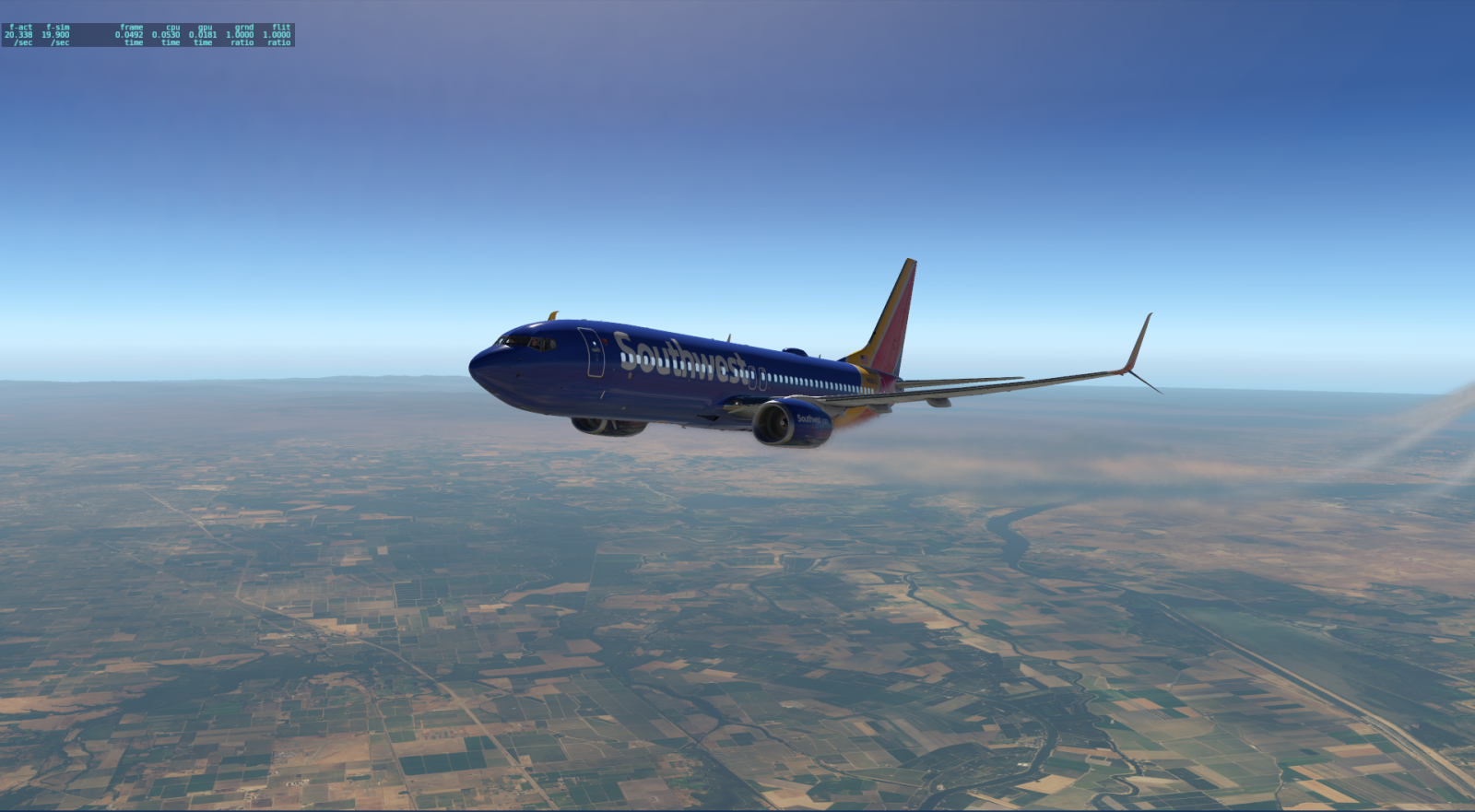 Low FPS in cockpit but not outside - ZIBO B738-800 modified