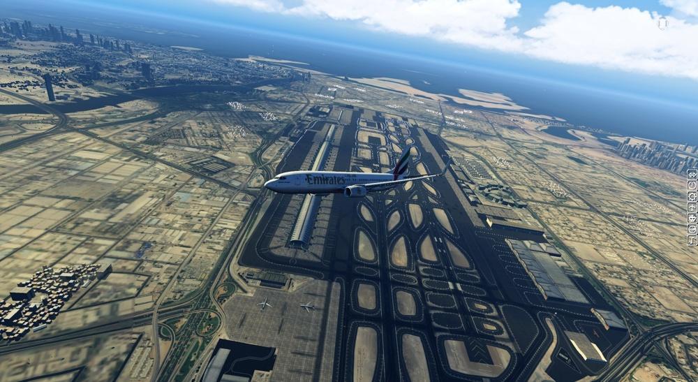 Nice View from Dubai - X-Plane 11 Screenshots - X-Plane Org Forum
