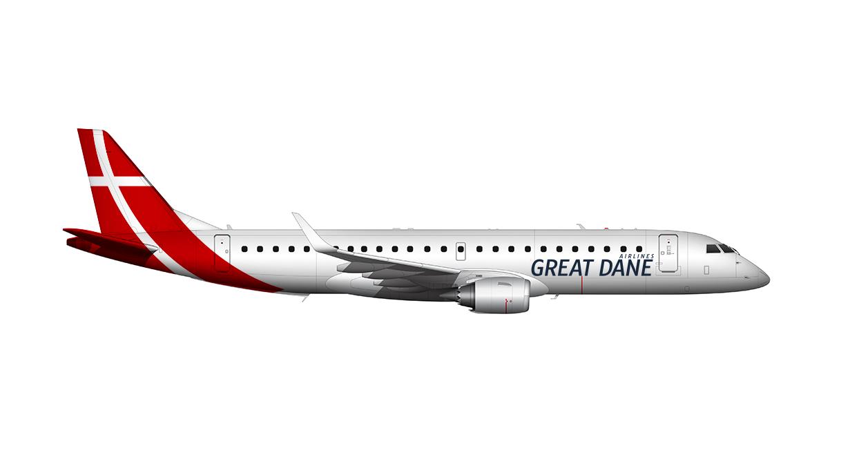 Zibo 737 Great Dane Livery request - ZIBO B738-800 modified