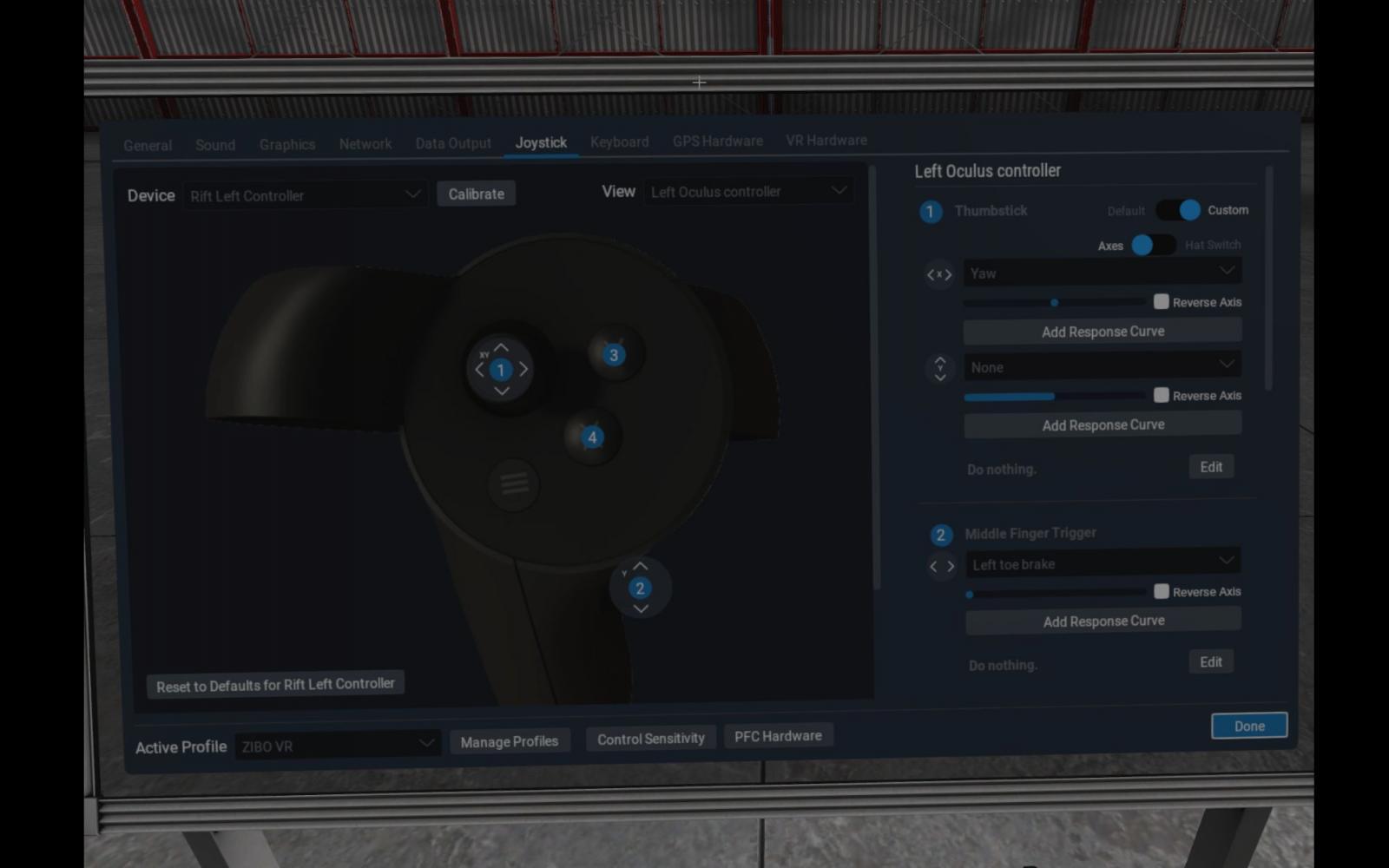 Oculus Tray Tool Rift S