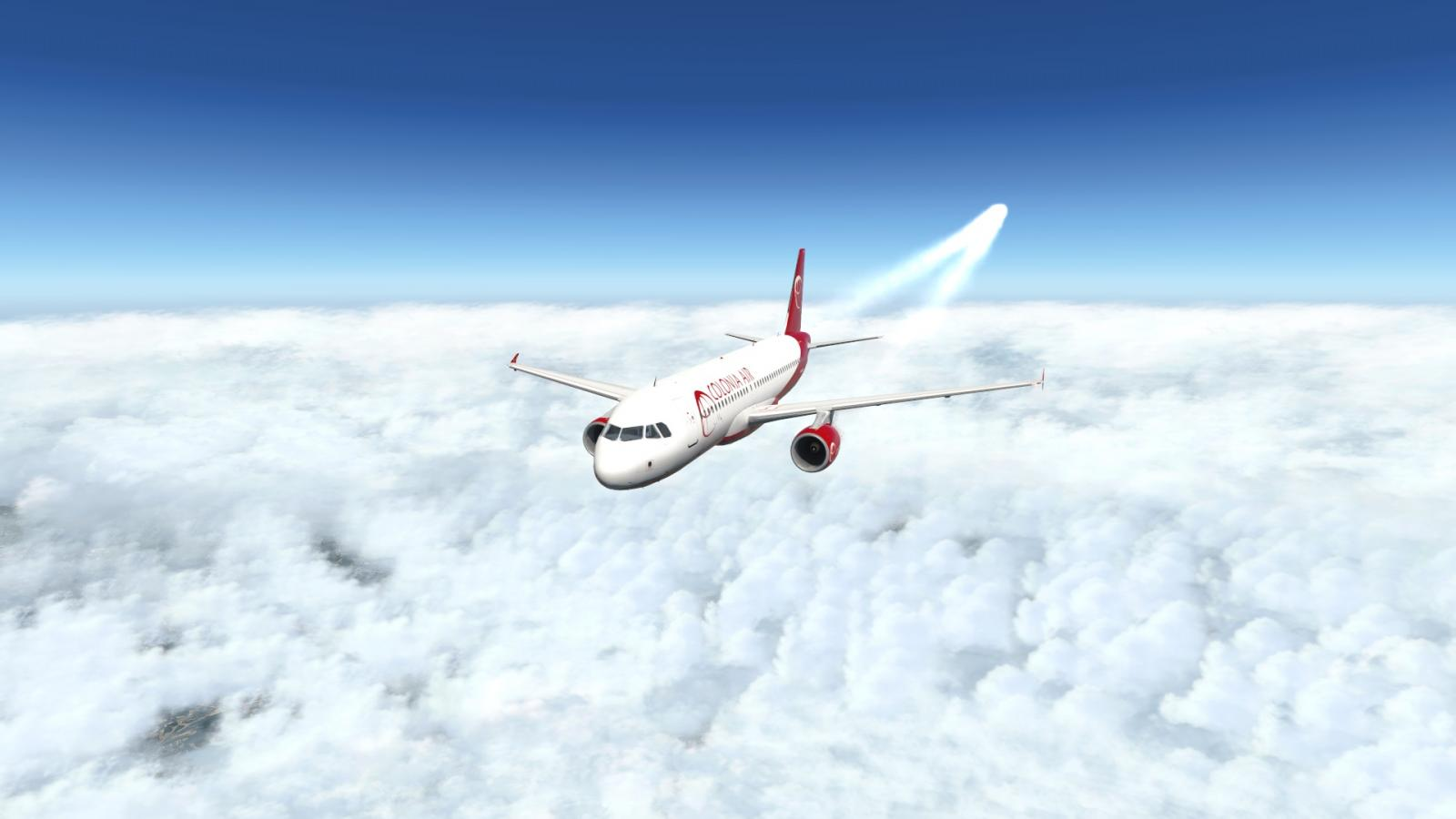 Old Contrails In 11 30 - XP11 beta - X-Plane Org Forum