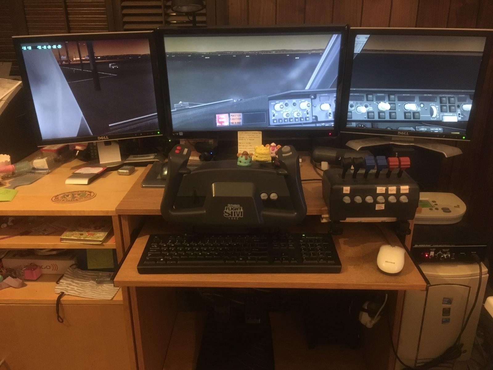 - Corner 3 Monitor Desk Setup - General X-Plane Forum - X-Plane.Org