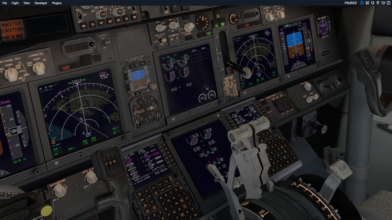 Zibo 738 Thrust Issue - ZIBO B738-800 modified - X-Plane Org Forum