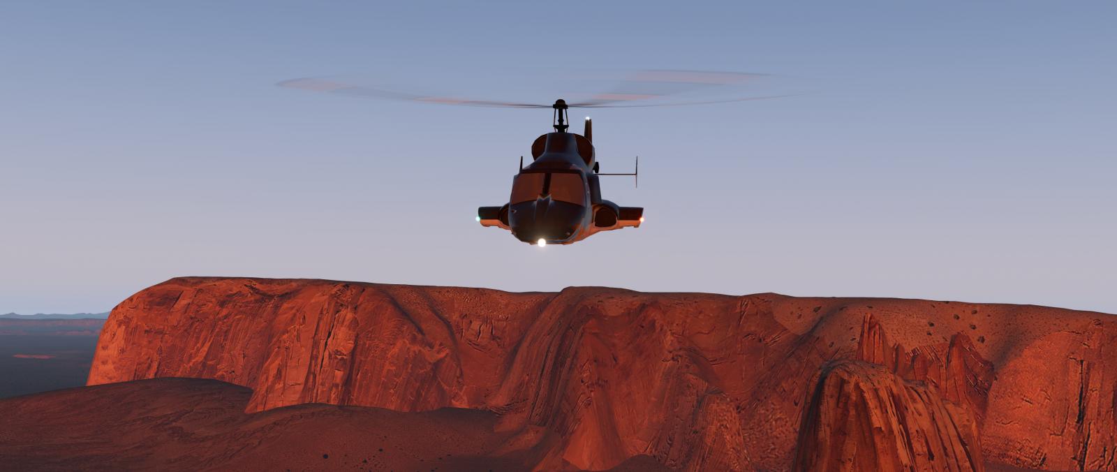Airwolf For X-Plane 11