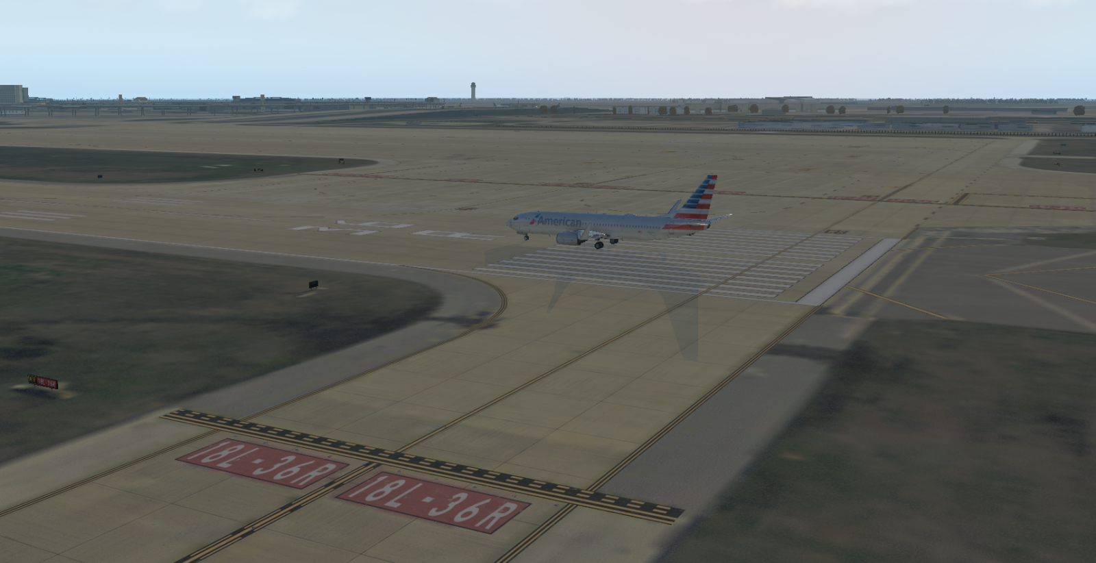 Bought KDFW from Org Store, looks very blend - XP11 Scenery