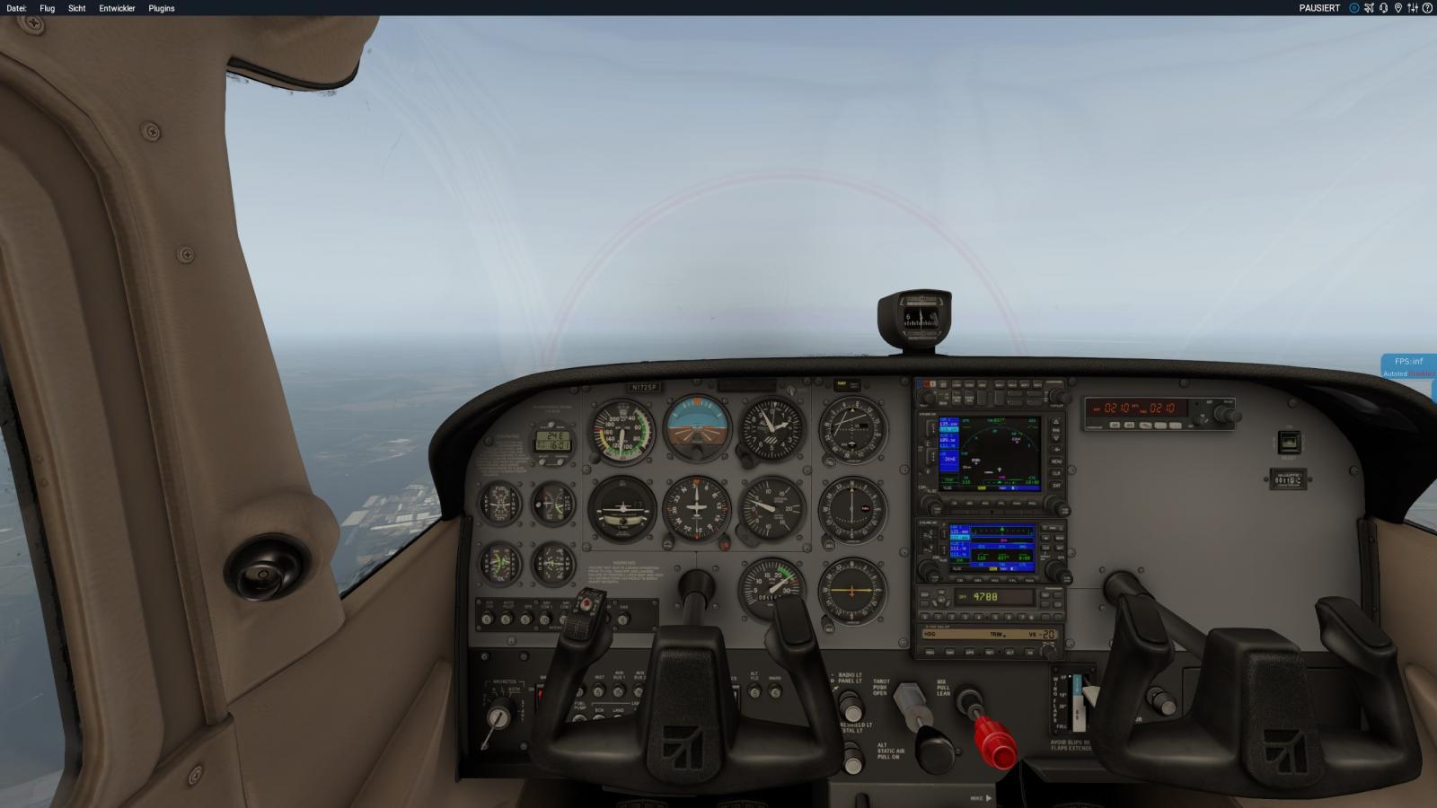 Cessna Autopilot Negative Vertical Speed dont work - XP11