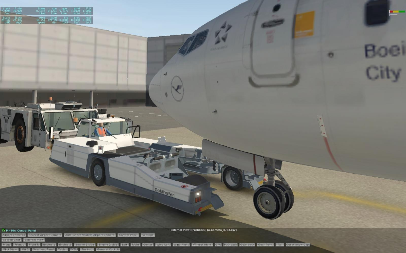 Better Pushback Issue - XP11 General discussion - X-Plane Org Forum