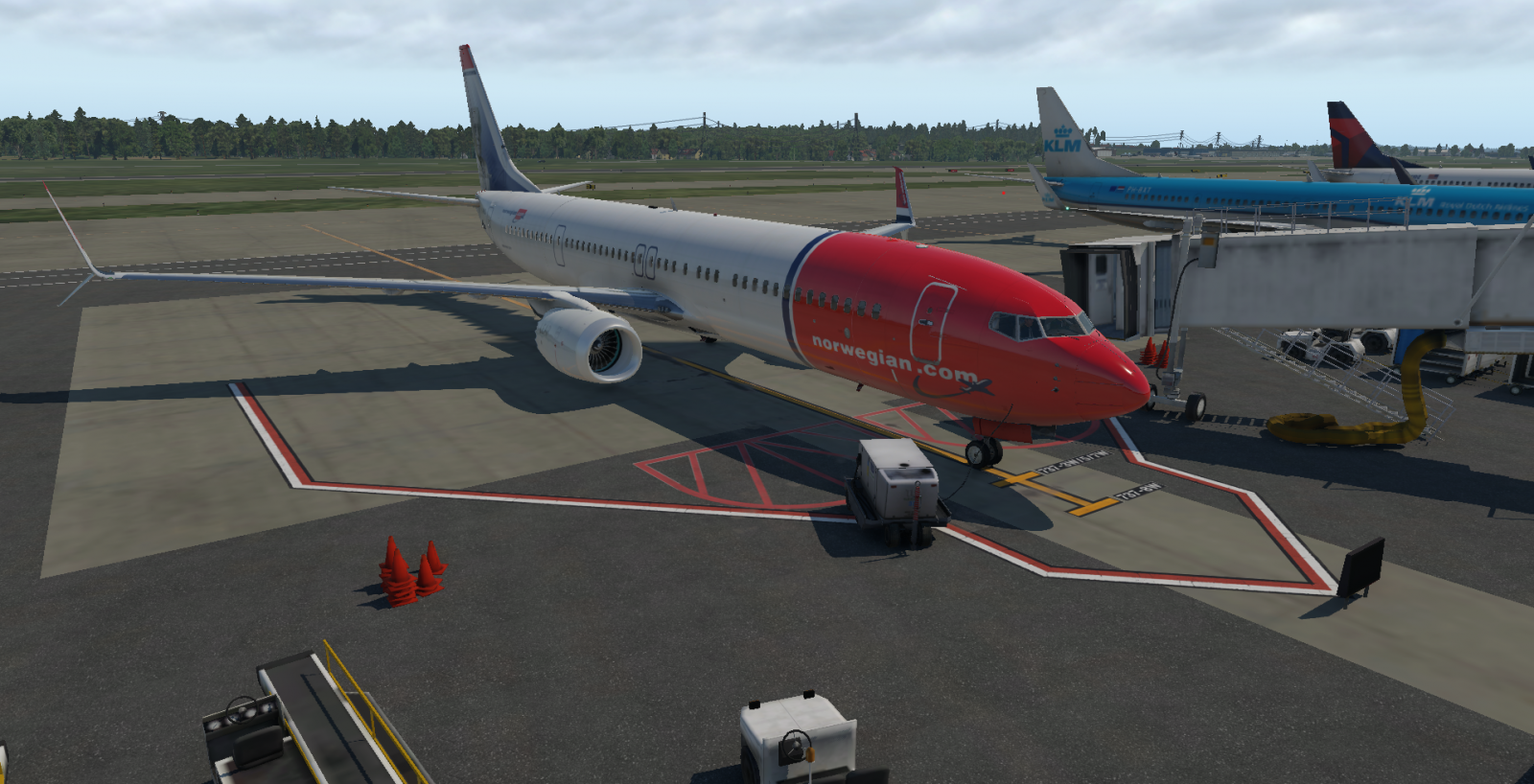 Norwegian - Boeing 737-900 MAX livery - Aircraft Skins - Liveries