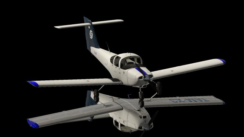 Aeromás CX-MAT Piper PA38 Tomahawk - Aircraft Skins - Liveries - X