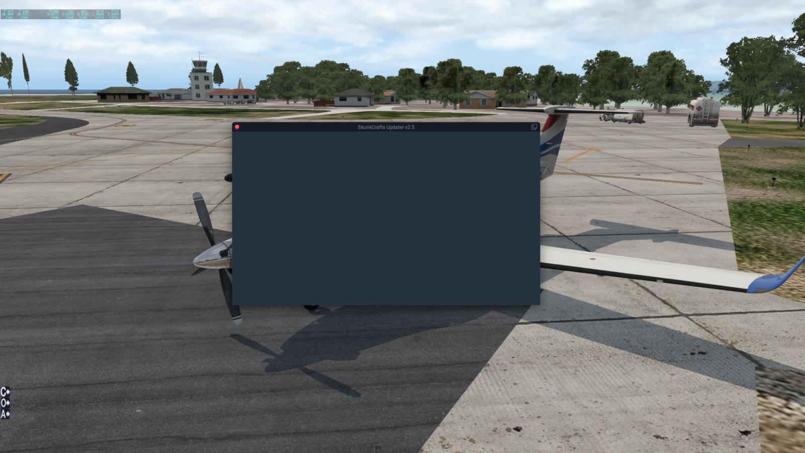 Updater Screen Blank - SkunkCrafts Updater - X-Plane Org Forum