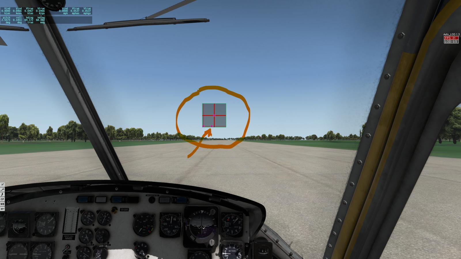 Setting response curves Thrustmaster hotas 4 - UH-1 - X