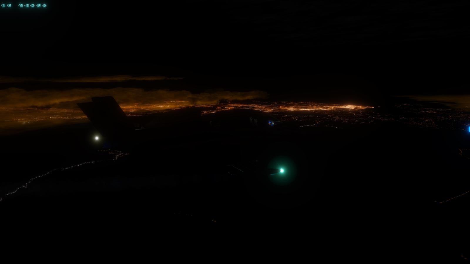 Realistic Lights Northwest Region XP11.50