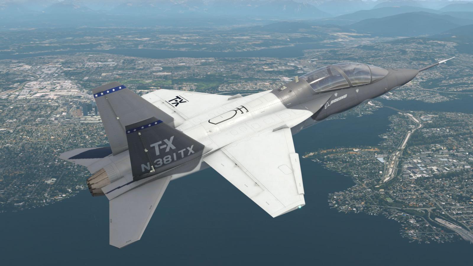 AOA Simulations T-7A Red Hawk V1.1 Uitgekomen